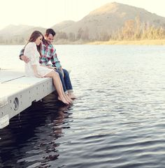 on the dock, Sequins and Candy Photography