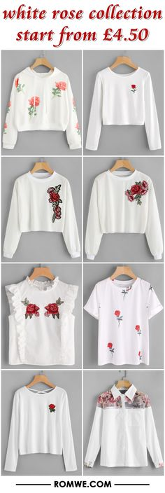 white rose collection from £4.50