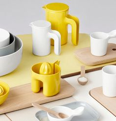 This new line of Danish kitchenware may be made of plastic, but it began as hand-thrown pottery. All White Room, Scandinavian Style Home, Kitchenware, Tableware, Hand Thrown Pottery, Plastic Design, London Design Festival, Paris Design, Wallpaper Magazine