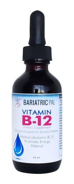 BariatricPal Liquid Vitamin B12 Drops #vitaminB #animals #vitamins #followback #animals #vitaminC #F4F