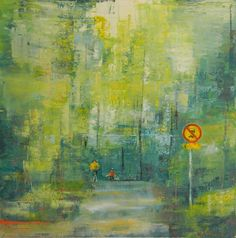 "Saatchi Art Artist: Kia Taegen; Oil 2013 Painting ""Rush hour"""