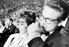 Natalie Wood & Warren 1962