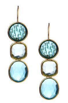 N'Luxe  Serena Triple Drop Earrings