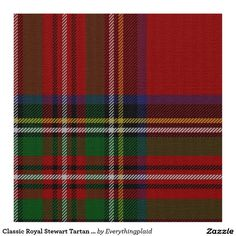 one of my family plaids the royal stewart tartan which is considered the most recognized plaid decorstewart tartantartan christmasplaid fabrictartan - Christmas Plaid Fabric