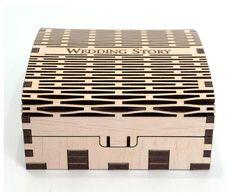 Wooden small box. Wedding USB case Wedding USB box Wedding