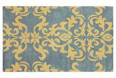 Lauren Rug, Gray/Mustard on OneKingsLane.com
