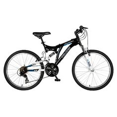 Polaris Ranger Full Suspension Mountain Bike, 24 inch Wheels, 17 inch Frame, Boy's Bike, Black - http://mountain-bike-review.net/products-recommended-accessories/polaris-ranger-full-suspension-mountain-bike-24-inch-wheels-17-inch-frame-boys-bike-black/ #mountainbike #mountain biking