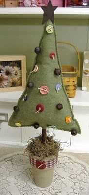 Melt Your Heart Greetings: Felt Christmas Tree