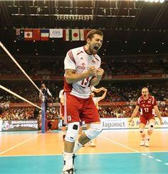 ''Nie odkładaj na jutro tego, co trzeba zniszczyć dziś' Volleyball Players, Mans World, Poland, Olympics, Basketball Court, Canada, Passion, Sports, Haikyuu