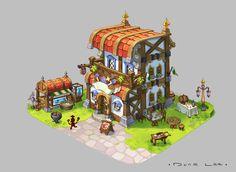 Restaurant, Dune Lee on ArtStation at https://www.artstation.com/artwork/restaurant-53f8117d-b98d-4b20-9cb1-6446de167a6f