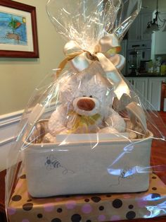 How To Wrap A Gift Basket In Cellophane Baskets Gift