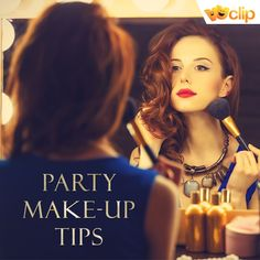 Get ready to dazzle with these party make up tips. #VuItHere