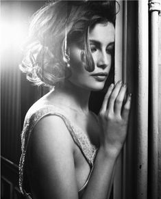 Laetitia Casta by Vincent Peters for Elle France January 2008