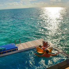Pick your spot @fourseasons #maldives #fsmaldives