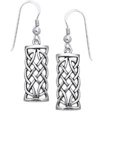 0a8c83cbd Jewelry Trends Sterling Silver Celtic Knot Dangle Earrings Symbol for  Creativity Braided Irish Design ** Details can be found by clicking on the  image.