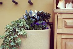 wiosenne dekoracje ogródków kawiarnianych