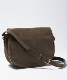 Leather Crossbody Bag: BAGS | Free Shipping at L.L.Bean