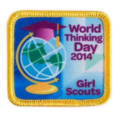 "Thinking Day is right around the corner!  The theme for World Thinking Day 2014 is girls worldwide say ""education opens doors for all girls and boys.""  Start planning how you will celebrate with your Sister Girl Scouts."