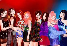 "23 Likes, 1 Comments - 장인어르씽 (@eokawai) on Instagram: ""5일 걸려서 겨우 그림ㅠㅠ  #소녀시대 #snsd #girlsgeneration #지금은소녀시대 #앞으로도소녀시대 #영원히소녀시대 #소녀시대사랑해 #윤아 #yoona #수영…"""