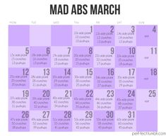 Now this is what I call March MADNESS!!  lol Let's see if I can do it