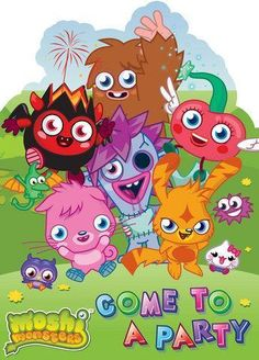 Moshi monster invitation