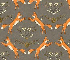 Fantastic, Mr. Fox fabric!  Lovely.