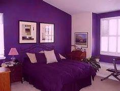 Purple Bedroom Dark Rooms Walls Colors Bright