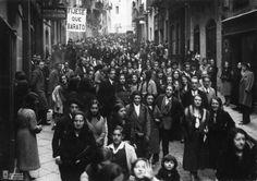 Función de las Siete Palabras. 1932. Archivo Municipal de Pamplona. #Pamplona #SemanaSanta