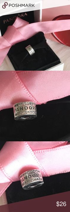 Pandora clip charm New authentic pandora clip charm included pandora clip charm Pandora Jewelry Bracelets