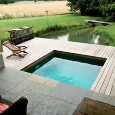 1000 images about piscinas on pinterest pools small - Jardines para casas pequenas ...