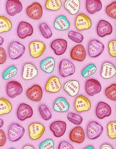 valentine day candy heart messages