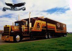 Extreme Marmon Trucks, with massive sleeper berth.