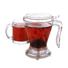 "Teaze Infuser - A beautiful and highly functional way to brew loose leaf teas (ahem, ""teaze"")."