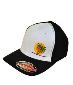 cc0c8183e 6511 Meshback Flexfit Hat with NICERIDE's classic palm logo embroidered on  the front left and NICERIDE