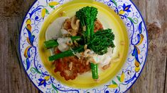 Crispy Chicken Paillard Divan