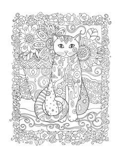 Ausmalbilder Katzen - kostenlose Malvorlagen zum Ausdrucken-dekoking-com-21