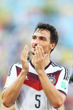 Mats Hummels - France v Germany: Quarter Final - 2014 FIFA World Cup Brazil
