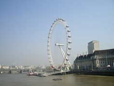 London Eye e o rio Thames, Londres