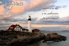 Arte Religioso Salmo 27 Fotografía de un Faro by PicturesofFaith,