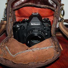 leather bag for Nikon DF  David Holliday