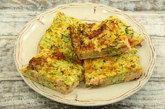 Kuchnia bezglutenowa: Bezglutenowa zapiekanka z cukini i łososia