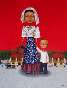 Galerie Francesca (Megamall) - Filipiniana Revisited (Lanuza and Rubio Show) - Photo #5 of 7