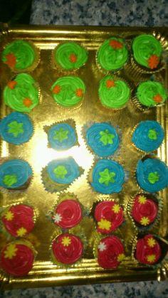 Mini cupcakes veraniegos