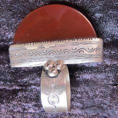 Tuareg Silver Ring with Carnelean by TuaregJewelry  by Ineke Hemminga https://www.facebook.com/TuaregJewelry