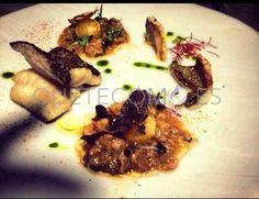 Lenguado salvaje con sopa de ajo negro y trufa | Restaurante El De Alberto en A Coruña