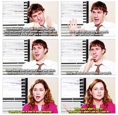 The Office | The Cube | Jim Halpert | Pam Beesly
