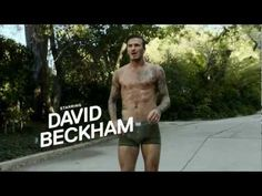 (near nude and wet) David Beckham for H directed by Guy Ritchie