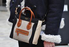 42b053845999 Celine Nano Luggage Tote. Burberry Handbags