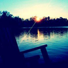 #Lake Sinclair, GA    A small piece of heaven. #milledgevillega