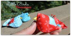 Little Birdie Pincushion Tutorial